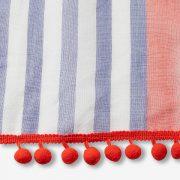 pom fringe stripe scarf 2